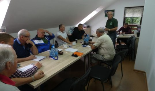 Zarząd klubu Vęgoria